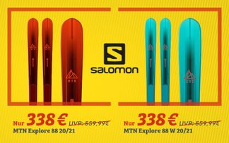 Dealbox Salomon Tourenski