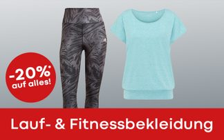 outlet tage laufbekleidung